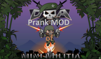 More From Mini-Militia Prank MOD By Clash With LEO